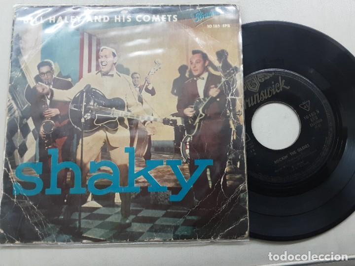 EP BILL HALEY & HIS COMETS, SHAKY, MACK THE KNIFE, DINAH, MUSIC, MUSIC... +1 (Música - Discos de Vinilo - EPs - Rock & Roll)
