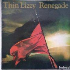 Disques de vinyle: THIN LIZZY. RENEGADE. SPAIN 1981.. Lote 267104504