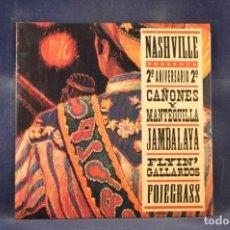 Discos de vinilo: VARIOS - 2º ANIVERSARIO NASHVILLE - EP. Lote 267110104