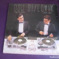 Disques de vinyle: MIKE PLATINAS, JAVIER USSIA – DON DISCOMIX - LP DON DISCO 1986 PRECINTADO - ELECTRONICA ITALODISCO. Lote 267127004