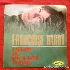Discos de vinilo: FRANÇOISE HARDY (EP 1964) LE QUIERO TODAVIA - SIEMPRE NOS SEPARAMOS - CELOSO - TU TIERNA MIRADA. Lote 267132684