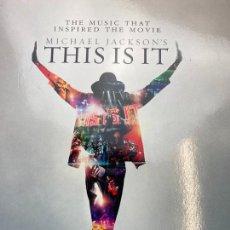 Discos de vinilo: MICHAEL JACKSON / THIS IS IT - BOX SET 4 LP / EDIC. LIMITADA Y NUMERADA. Lote 267134209
