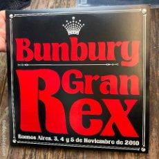 Disques de vinyle: ENRIQUE BUNBURY - GRAN REX (3XLP, ALBUM, LTD, NUM). Lote 267136869