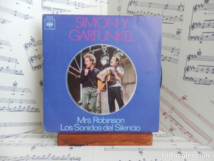 SIMON & GARFUNKEL - MRS ROBINSON (Música - Discos - Singles Vinilo - Country y Folk)