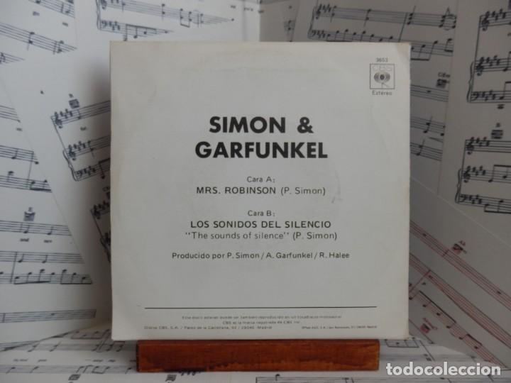 Discos de vinilo: SIMON & GARFUNKEL - MRS ROBINSON - Foto 2 - 267140199
