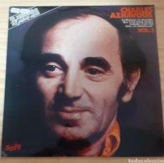Discos de vinilo: CHARLES AZNAVOUR. Lote 267162179