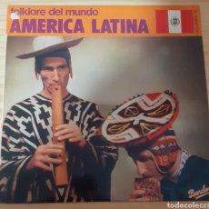 Discos de vinilo: FOLKLORE DEL MUNDO AMÉRICA LATINA. Lote 267162664