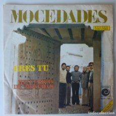 Discos de vinilo: MOCEDADES // ERES TU // EUROVISION'73 // 1973 // SINGLE. Lote 267185724
