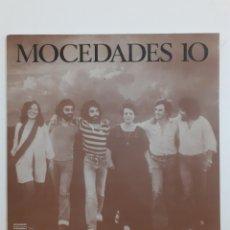 Discos de vinilo: MOCEDADES 10. GATEFOLD. 1978. NLX - 1120. VG++. VG++.. Lote 267199479