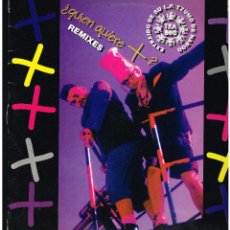 Discos de vinilo: TZA BOO - ¿QUIEN QUIERE? - MAXI SINGLE 1994 - ED. ESPAÑA. Lote 288529403