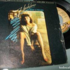 Discos de vinil: IRENE CARA - FLASHDANCE - WHAT A FEELING .. SINGLE DE 1983 - CASABLANCA. Lote 267207989