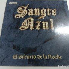 Discos de vinilo: VINILO METAL/SANGRE AZUL/EL SILENCIO DE LA NOCHE.. Lote 267210049