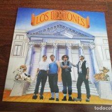 Discos de vinilo: LOS BERRONES-NO, HOME, NON. LP. Lote 267224924