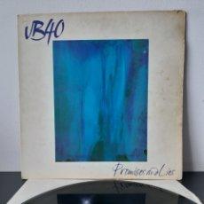 Disques de vinyle: UB 40. PROMISES AND LIES. 1993. EUROPA.. Lote 267236534