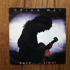 Discos de vinilo: BRIAN MAY - BACK TO THE LIGHT + NOTHIN' BUT BLUE (GUITAR VERSION). Lote 267238969