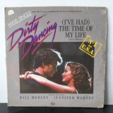 Discos de vinilo: DIRTY DANCING. MAXI SINGLE.. Lote 267241649