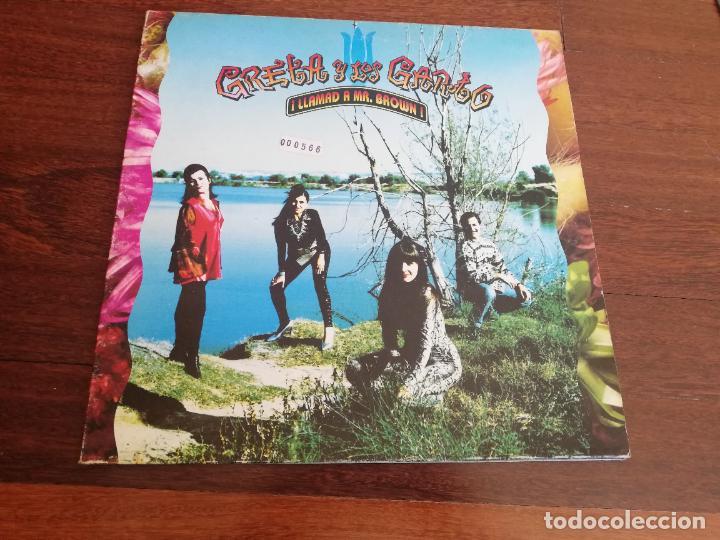 GRETA Y LOS GARBO- ¡LLAMAD A MR BROWN!. LP (Música - Discos - LP Vinilo - Grupos Españoles de los 90 a la actualidad)