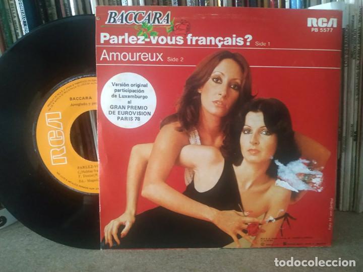 Discos de vinilo: BACCARA PARLEZ VOUS FRANCAIS? LUXEMBURGO 1978 EUROVISION - Foto 2 - 267246254
