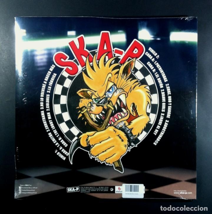Discos de vinilo: SKA-P - Game Over - DOBLE LP REEDICION 2021 - ALTAFONTE (Nuevo / Precintado) - Foto 2 - 267250359