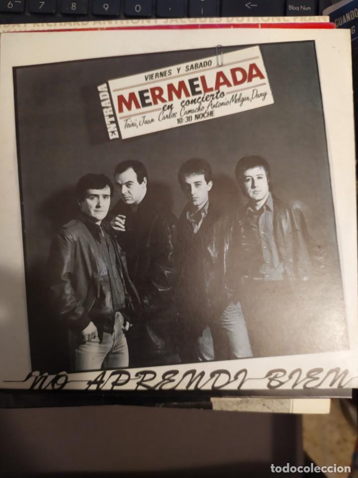 MERMELADA .LOTE DOS DISCOS NO APRENDI BIEN, UN TRUCO MAS . DISCOS VICTORIA PROMO 1985 (Música - Discos - Singles Vinilo - Grupos Españoles de los 70 y 80)