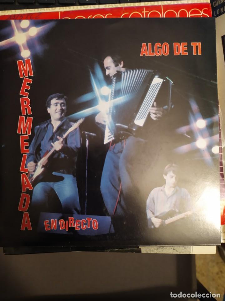 Discos de vinilo: MERMELADA .LOTE DOS DISCOS NO APRENDI BIEN, UN TRUCO MAS . DISCOS VICTORIA PROMO 1985 - Foto 2 - 267253244