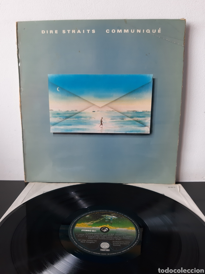 DIRE STRAITS. COMMUNIQUE 1979. SPAIN. (Música - Discos - LP Vinilo - Grupos Españoles de los 70 y 80)