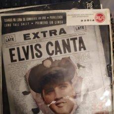 Discos de vinil: ELVIS PRESLEY: EXTRA, ELVIS CANTA CUANDO MI LUNA SE CONVIERTE EN ORO + 3 RCA ED ESPAÑA. Lote 267257174