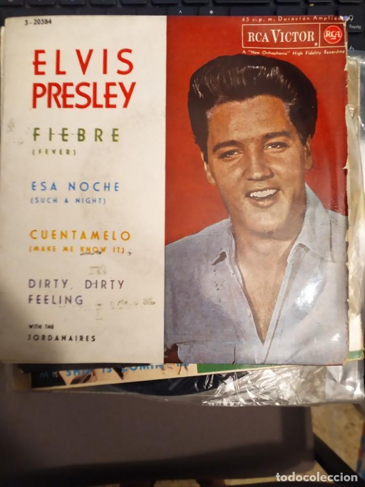 ELVIS PRESLEY: FIEBRE, ESA NOCHE + 2 WITH THE JORDANAIRES ED ESPAÑA RCA 1962 (Música - Discos de Vinilo - EPs - Rock & Roll)