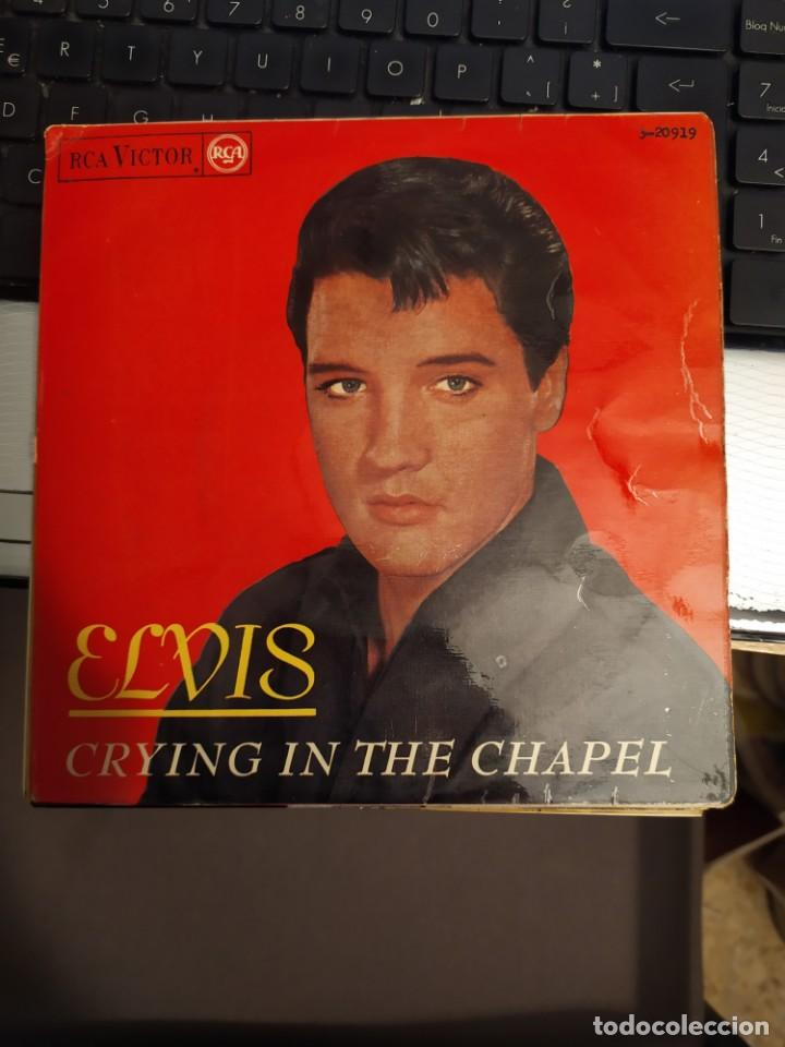 ELVIS PRESLEY: CRYING IN THE CHAPEL, SWING DOWN SWEET CHARIOT+ 2 ED ESPAÑA RCA 1965 (Música - Discos de Vinilo - EPs - Rock & Roll)