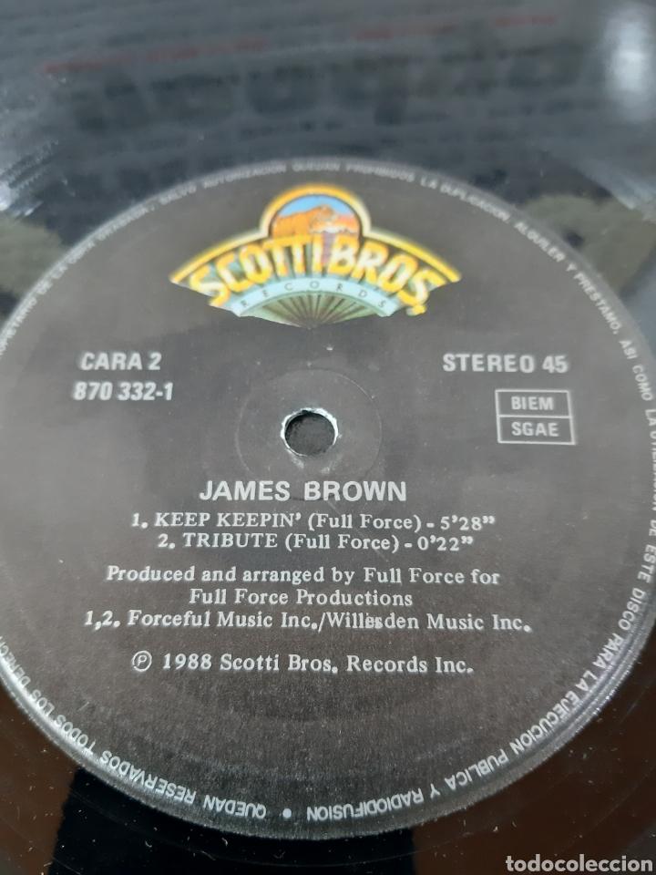 Discos de vinilo: JAMES BROWN. IM THE REAL. 1988. MAXI. SPAIN - Foto 3 - 267261709