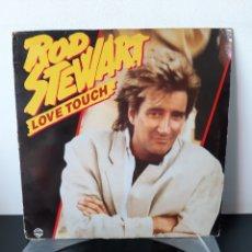 Discos de vinilo: ROD STEWART. LOVE TOUCH. MAXI SINGLE. 920479 0. ESPAÑA. PROMOCIONAL.. Lote 267263434