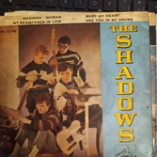 Discos de vinilo: LOTE 2 DISCOS THE SHADOWS: MADISON-NIVRAM , THOSE BRILLIANT SHADOWS EP ED ESPAÑA. Lote 267263524