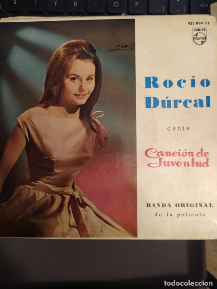 LOTE 2 EPS ROCIO DURCAL CANTA CANCION DE JUVENTUD , BANDA SONORA ORIGINAL (Música - Discos de Vinilo - EPs - Bandas Sonoras y Actores)
