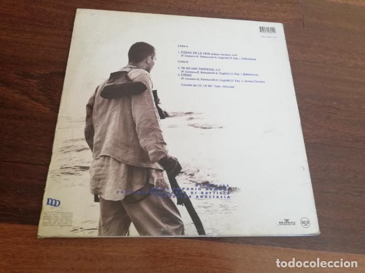 Discos de vinilo: Eros Ramazzotti-cosas de la vida. maxi - Foto 2 - 267265474
