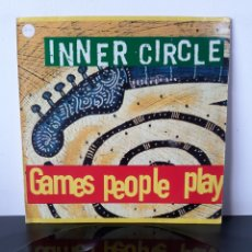 Discos de vinilo: INNER CIRCLE. GAMES PEOPLE PLAY. MAXI SINGLE. 1994. FRANCE. Lote 267267584