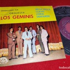 Discos de vinilo: LOS GEMINIS BELLA EPOCA/CLAVEL/LEIRIA/SANTAREM EP 1972 BERTA PROMO VINILO NUEVO. Lote 267276924