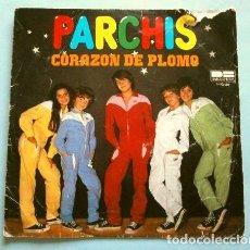 Dischi in vinile: PARCHIS (SINGLE 1981) CORAZON DE PLOMO - UN RAYO DE SOL. Lote 267288889