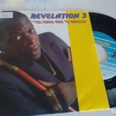 Discos de vinilo: SINGLE (VINILO) DE REVELATION 3 AÑOS 90. Lote 267312904