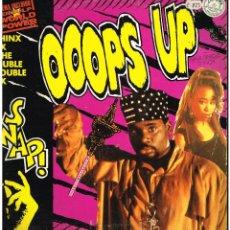 Discos de vinilo: SNAP - OOOPS UP - MAXI SINGLE 1990 - ED. ESPAÑA. Lote 288529528