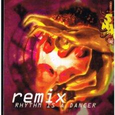 Discos de vinilo: SNAP - RHYTHM IS A DANCER - MAXI SINGLE 1992 - ED. ESPAÑA. Lote 288529638