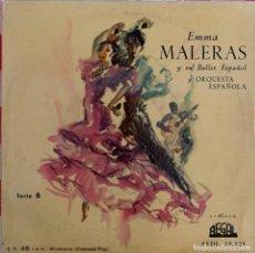 Discos de vinilo: EMMA MALERAS Y SU BALLET ESPAÑOL Y ORQUESTA ESPAÑOLA. Lote 267334044