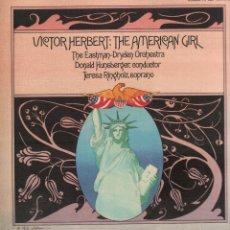 Discos de vinilo: VICTOR HERBERT - THE AMERCIAN GIRL / LP DIGITAL RECORDS 1986 / BUEN ESTADO RF-9644. Lote 267335669