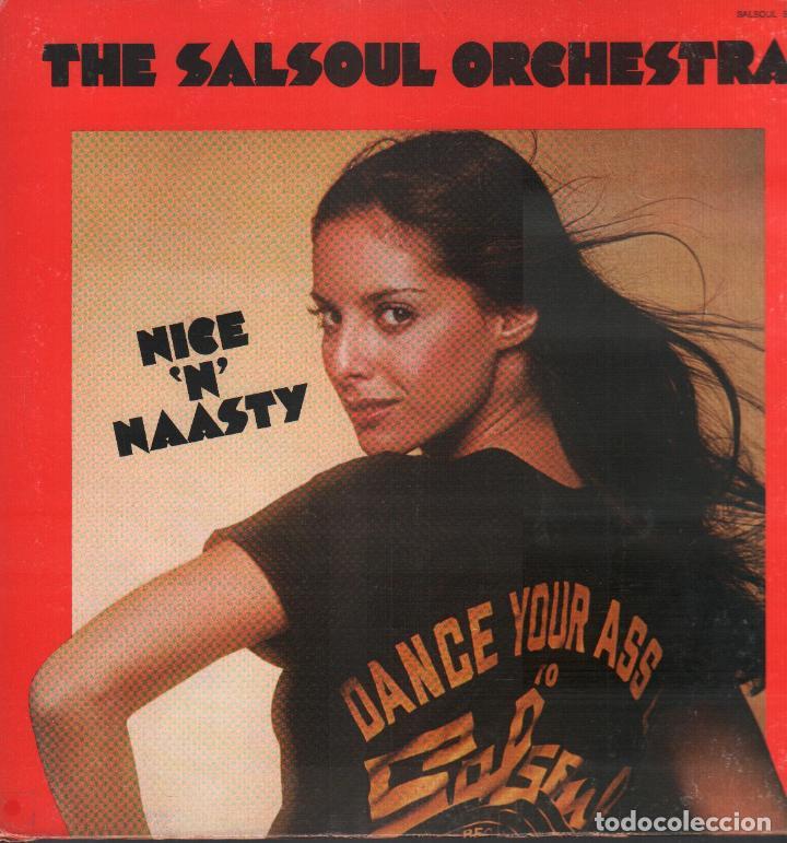 THE SALSOUL ORCHESTRA - NICE 'N' NAASTY / LP SALSOUL DE 1976 / BUEN ESTADO RF-9648 (Música - Discos - LP Vinilo - Orquestas)