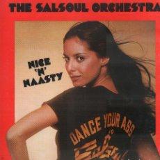 Disques de vinyle: THE SALSOUL ORCHESTRA - NICE 'N' NAASTY / LP SALSOUL DE 1976 / BUEN ESTADO RF-9648. Lote 267336239