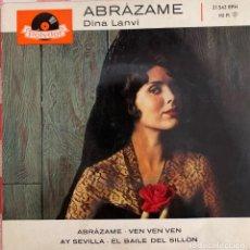 Discos de vinilo: DINA LANVI - ABRÁZAME.. Lote 267343054