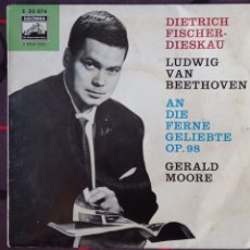 Discos de vinilo: D.F DIESKAU. BEETHOVENN LIEDER. OP98.SINGLE VINILO. ED. ALEMANIA.. Lote 267344679