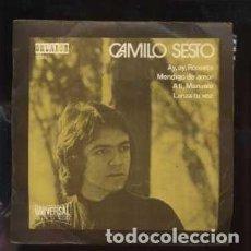 Discos de vinilo: EP. CAMILO SESTO. AY,AY, ROSSETA; A TI, MANUELA; MENDIGO DE AMOR; LANZA TU VOZ RF-8791. Lote 267346004
