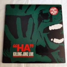 """Discos de vinil: KILLING JOKE -""""HA"""" KILLING JOKE LIVE- (1982) MINI-ALBUM 10"""". Lote 267351349"""