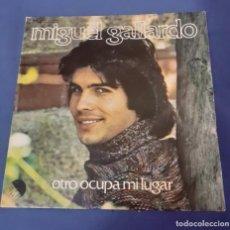 Discos de vinilo: DISCO SINGLE DE MIGUEL GALLARDO OTRO OCUPA MI LUGAR. ENVIO CERTIFICADO GRATUITO. Lote 267355719