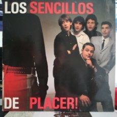 Disques de vinyle: LOS SENCILLOS - DE PLACER 1990. Lote 267375499